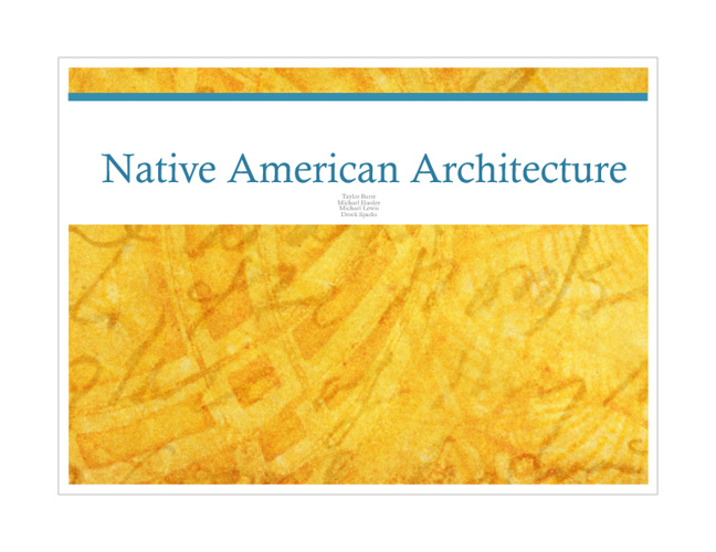Art History-Native Americans