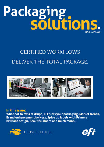 Packaging Solutions #9 - May 2016