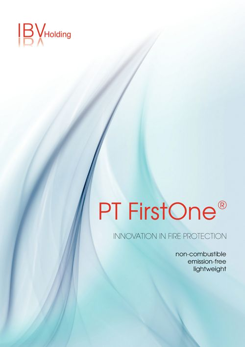 PT FirstOne® Innovation in fire protection