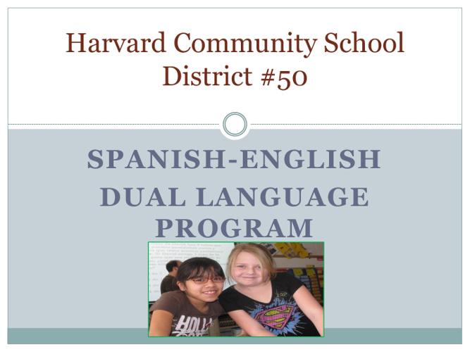 Dual Language Informational Parent Book