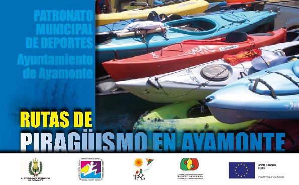 Guía Piragüismo; rutas en Ayamonte