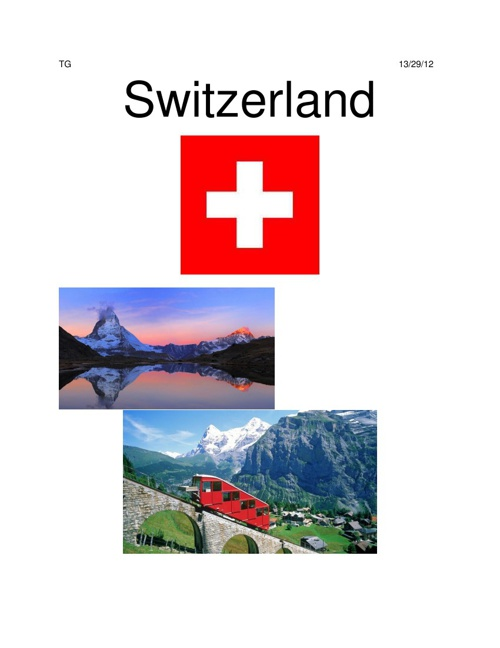 Switzerlandprojectcoverandcreative