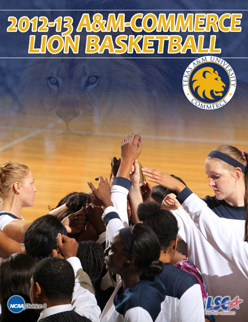 2012-13 A&M-Commerce Women's Basketball Yearbook