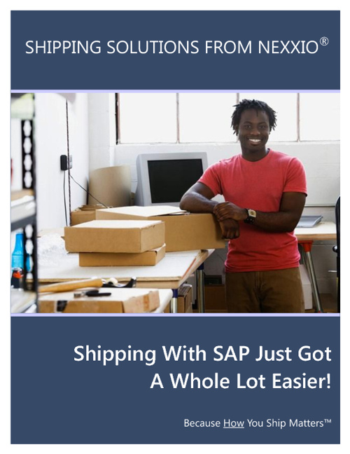 Nexxio SAP Shipping Solutions