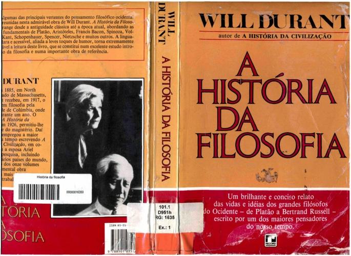 Will Durant | História da Filosofia