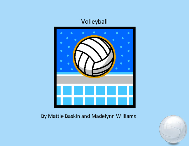 Volleyball Madelynn  & Mattie