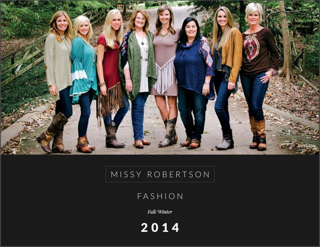 Missy-Robertson-Fashion-Lookbook-Fall-Winter-2014