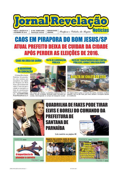 JORNAL REVELAÇÃO ED 01