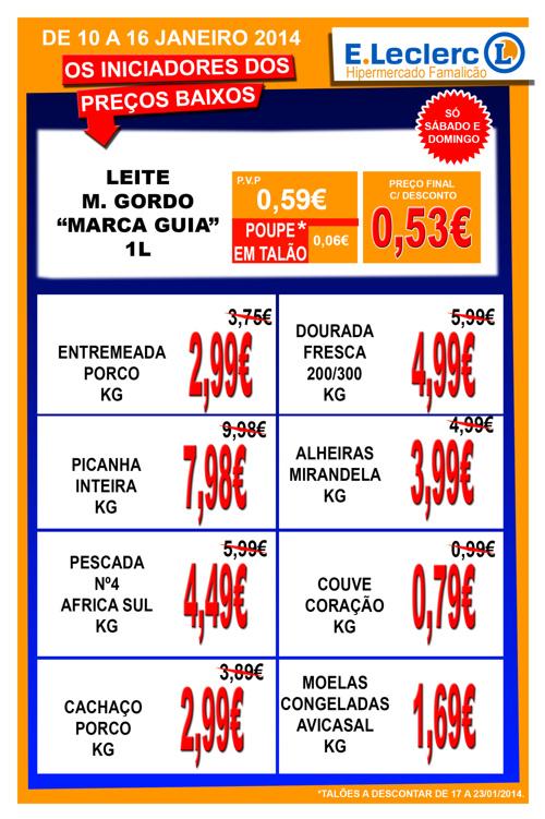 Folheto Loja 10 a 16/01/2014