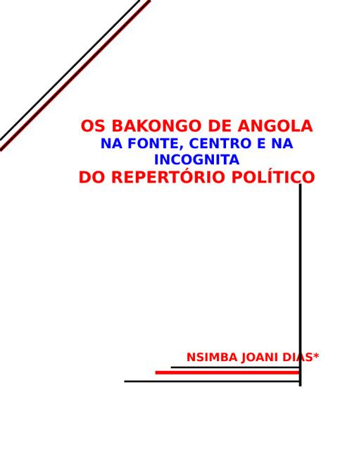 Os Bacongo de Angola