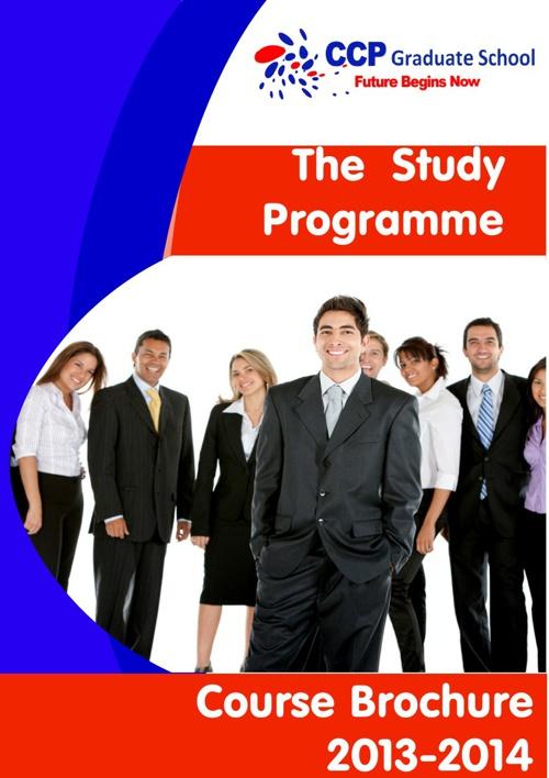 CCP GROUP Study Programme 2013-2014