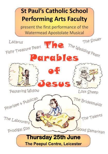 The Parables of Jesus - Programme June 2010