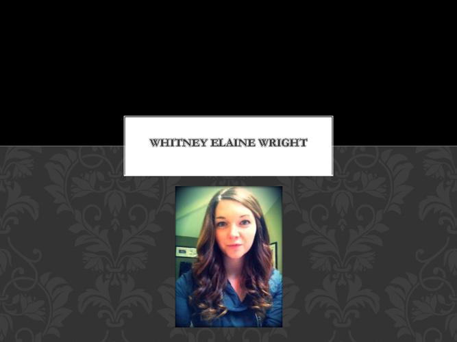 Whitney Elaine Wright