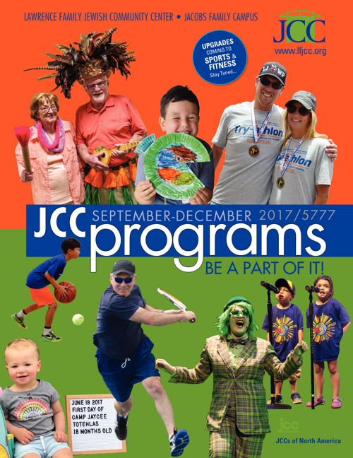 JCC Program Guide Fall 2017