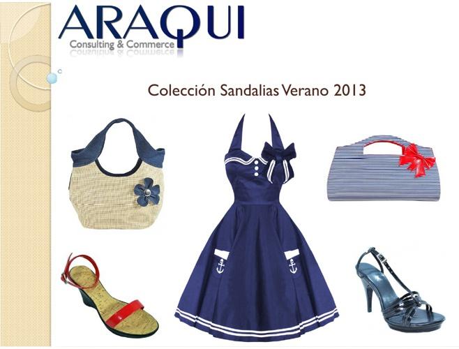 ARAQUI Catálogo Sandalias 2013