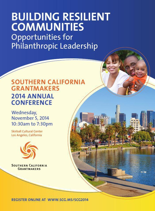 SoCal Grantmakers 2014 Annual Conference Invitation 2