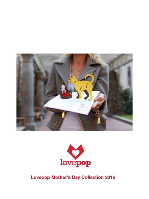 Lovepop Mother's Day 2016 collection