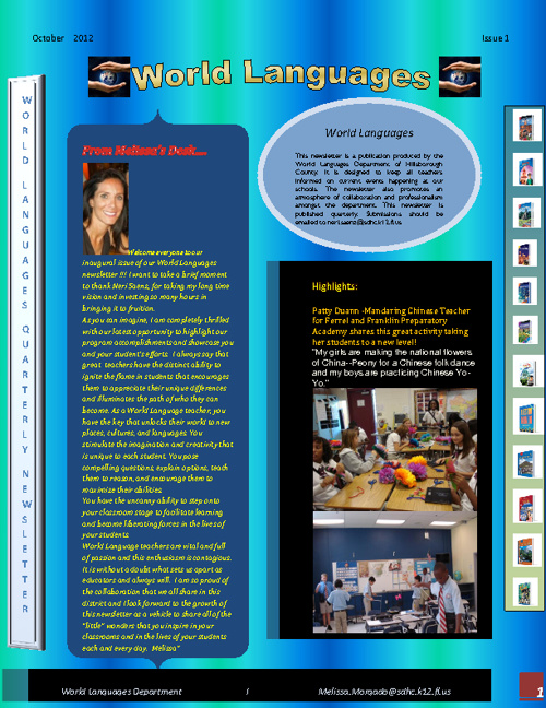 Hillsborough County Newsletter
