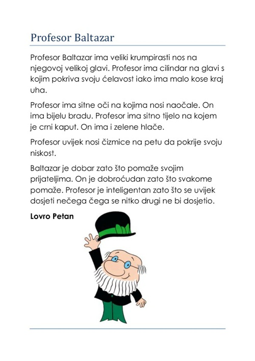 Profesor Baltazar