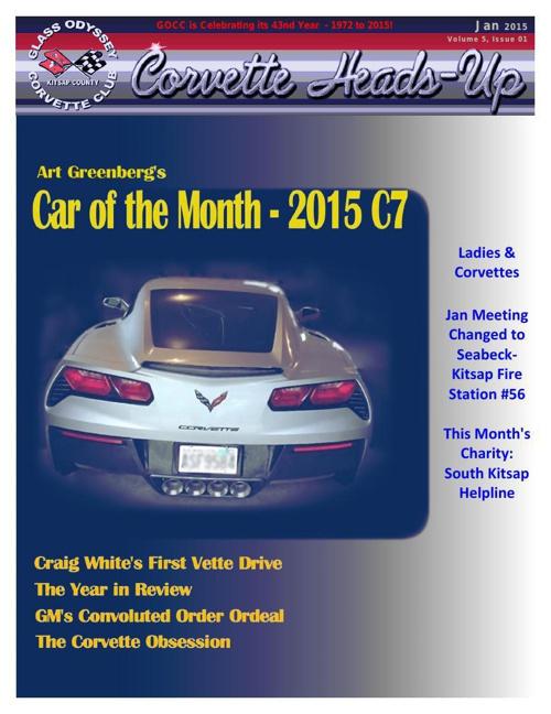 GOCC January 2015 Newsletter