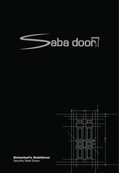 Sicherheit's Stahltüren SabaDoor DE