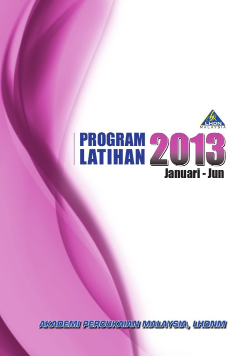 Flip Book-Buku Program Latihan Tahunan 2013