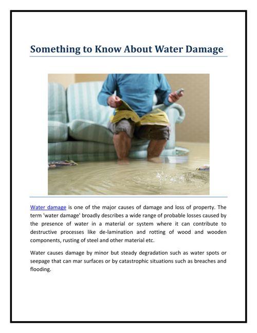 Rollingwood Water Damage