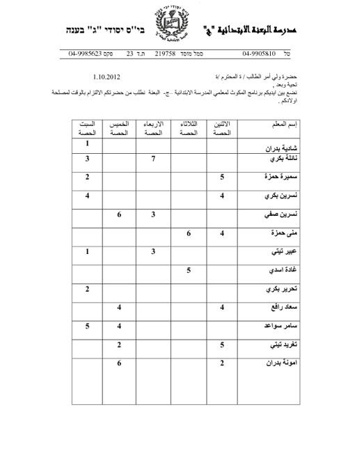 برنامج المكوث للمعلمين
