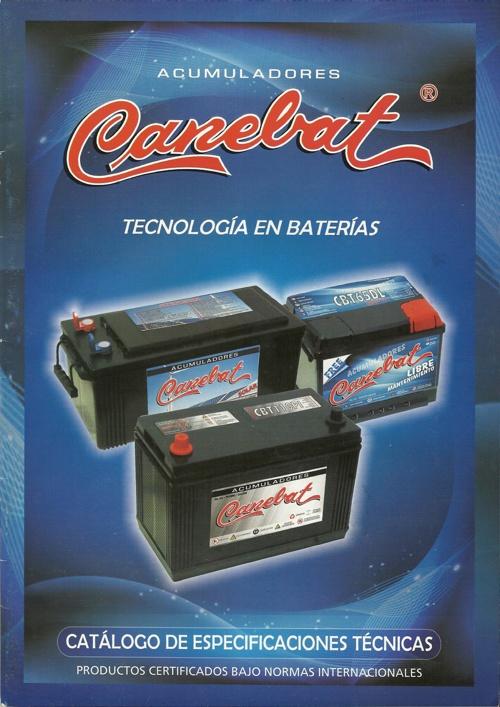 Catalogo Canebat 2014