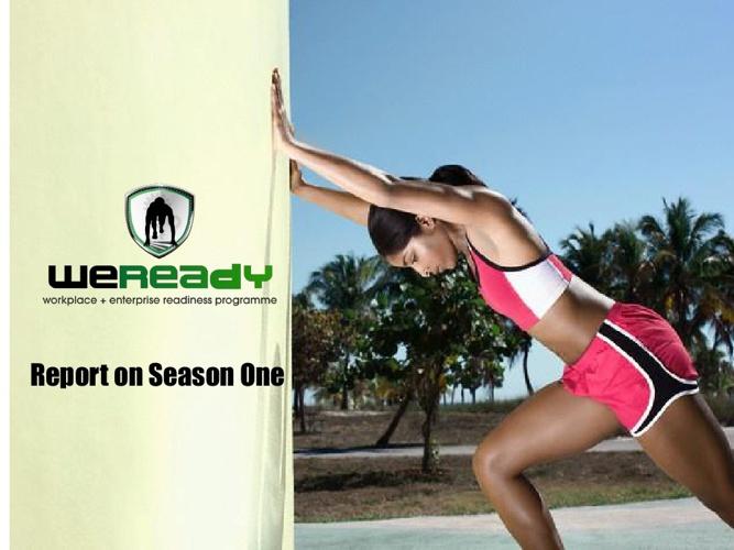 WeReady Digest - REPORT ON SEASON ONE (2012)