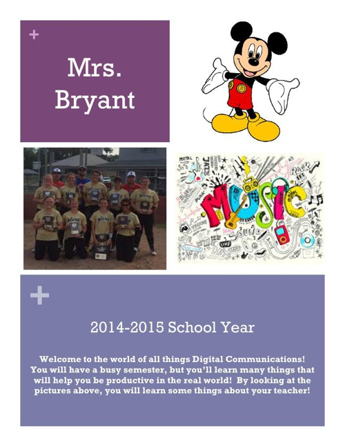 Bryant Flipsnack Front Page