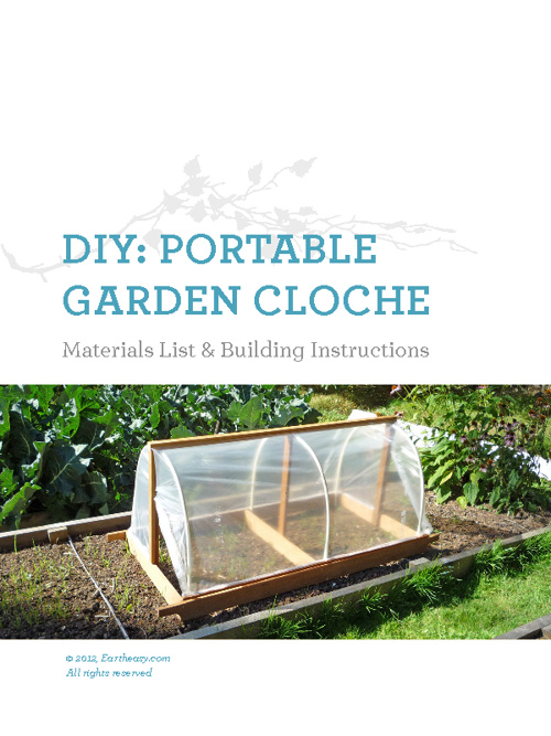 DIY: Portable Garden Cloche Sample