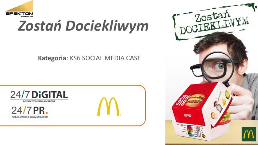 Kampania Zostań Dociekliwym w McDonald's
