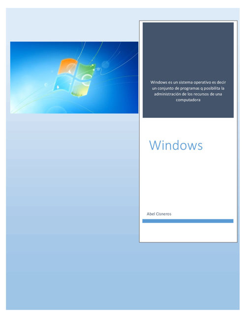windows PDF