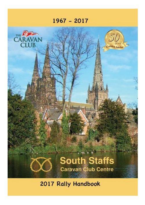 2017 South Staffs Rally Handbook.