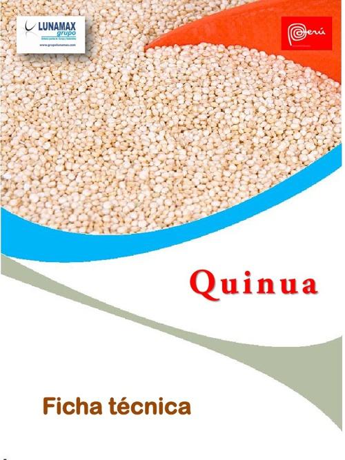 FICHA TECNICA DE LA QUINUA