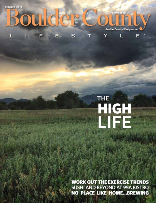 Boulder County Lifestyle October 2013