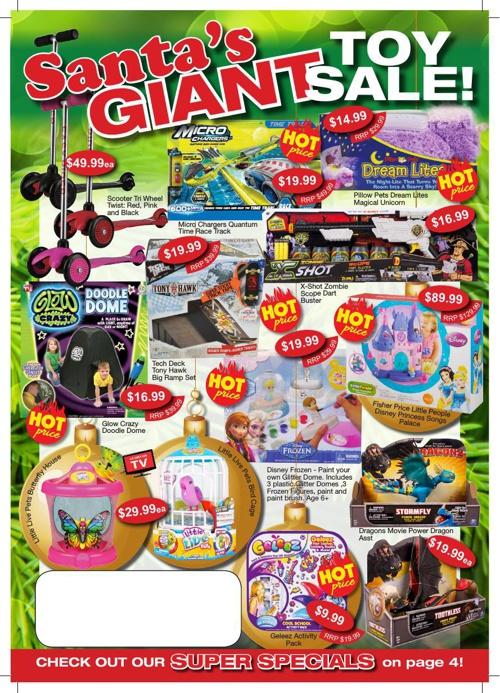 Santa's Giant Toy Sale