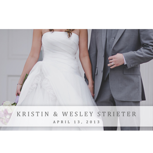 Kristin & Wesley - Coffee Table Book