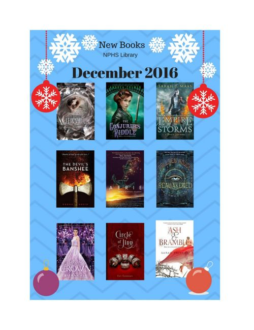 New Books December 2016