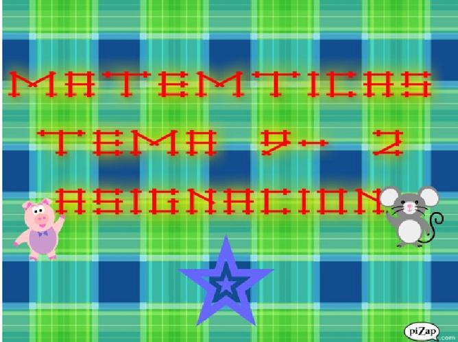 TEMA 9 DE MATEMÁTICAS COMPLETO