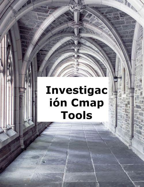 Investigación CMAPTOOLS Jorge Manrique