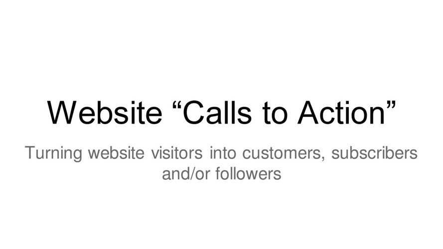 PDF_Website_Calls to Action_Presentation
