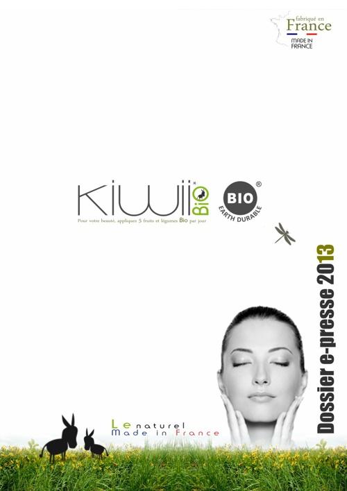 Dossier e-presse Kiwii Bio® 2013