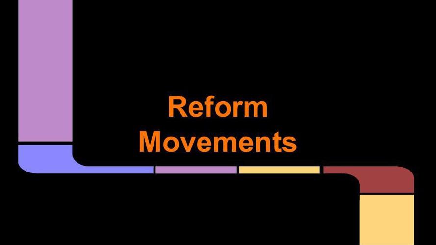 Reform Movements -Neha Batawala