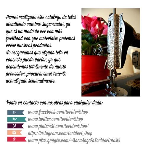 Catálogo Telas Otoño-Invierno I