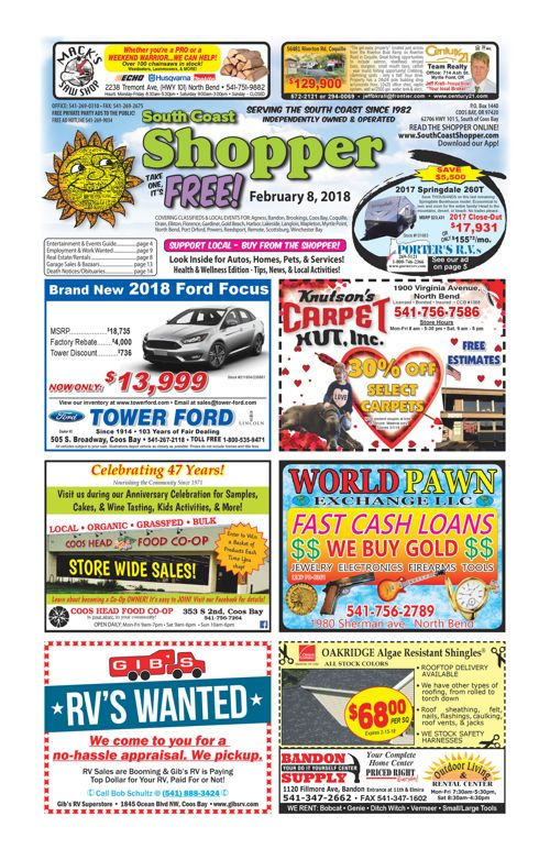 South Coast Shopper e-Edition 2-8-18