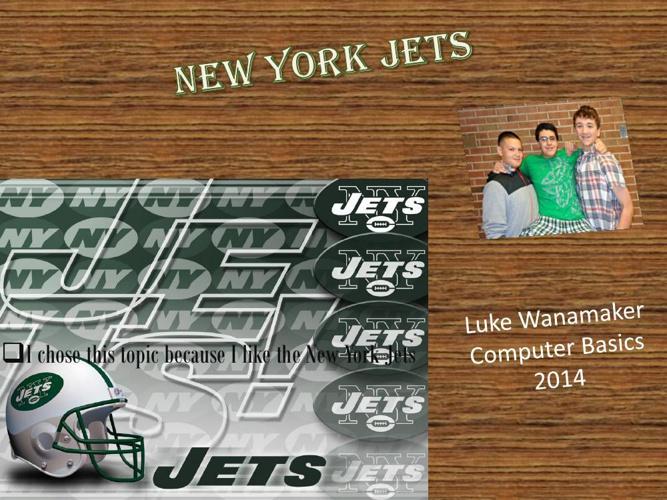 Luke Wanamaker New York Jets - Copy.pptx