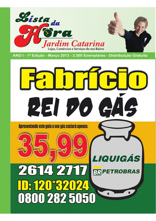 LISTA DA HORA - MARÇO DE 2013