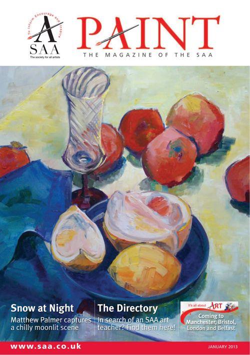 Paint Magazine January 2013